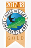 David Bellamy Conservation Award 2017-18